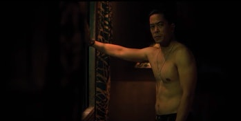 Byron Mann plays a previous incarnation of Takeshi Kovacs with a kind of unbridled intensity.