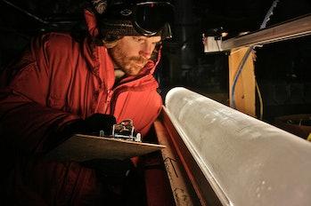 ice core analysis