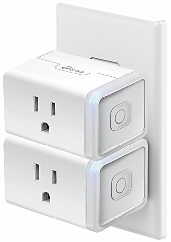 Kasa Smart WiFi Plug Mini by TP-Link - Smart Plug, No Hub Required, Works with Alexa and Google (HS105 KIT)