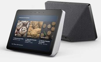 The second-generationAmazon Echo Show has a fabric-style base, like the Google Home Hub.