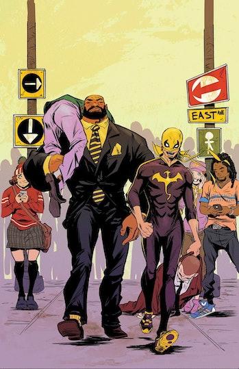 Marvel Iron Fist Luke Cage