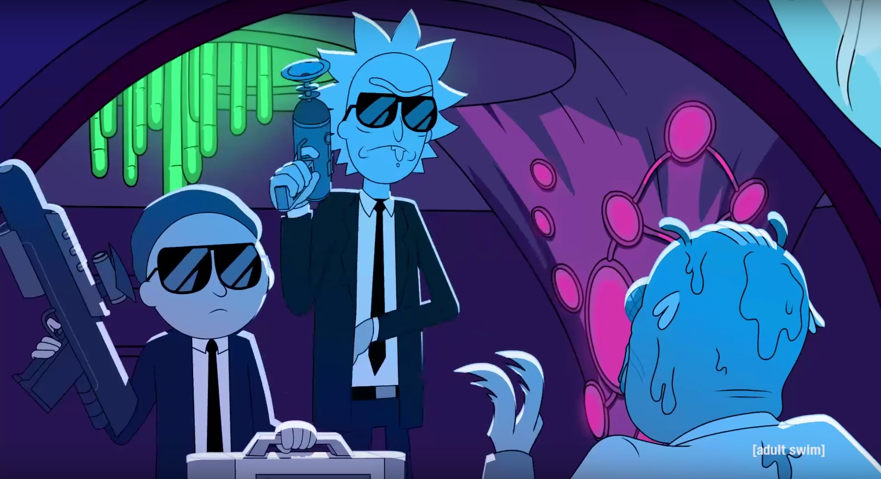 Rick And Morty Never Looked More Badass Than This Run The Jewels Video