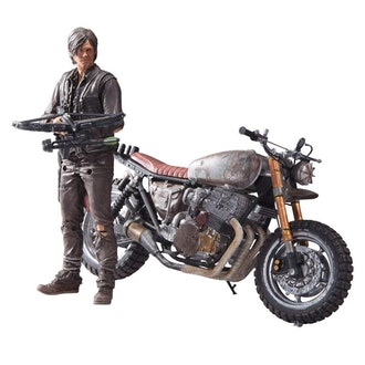 The Walking Dead TV Daryl Dixon with Custom Bike Deluxe Box Set