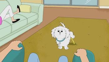 The original Snuffles was just a regular dog.