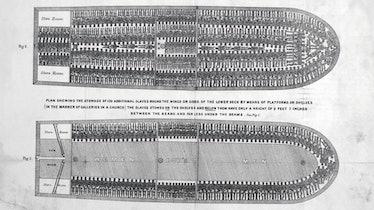 Brooks slave ship diagram