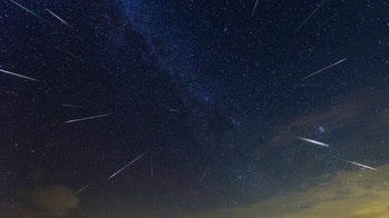 The Perseid meteor shower this weekend could look something like this