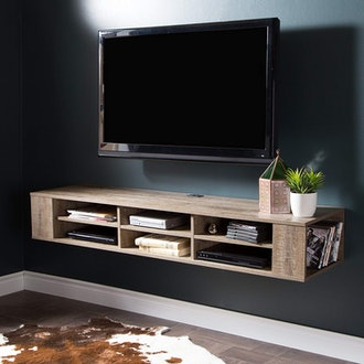 South Shore Wall Mounted Media Console