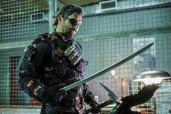 Arrow Deathstroke Manu Bennet Season 6