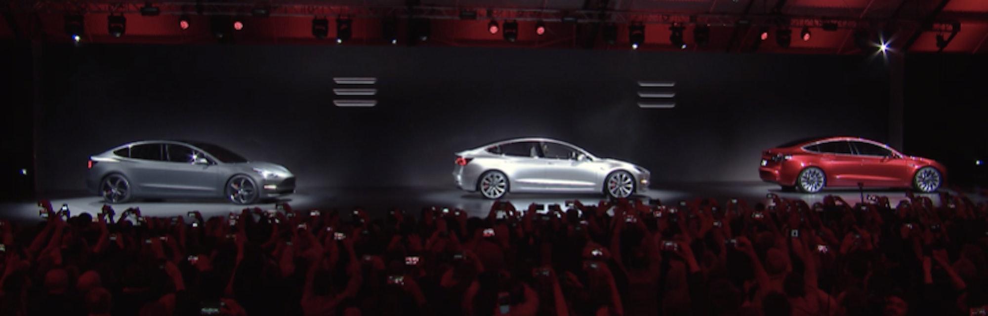 Tesla Model 3 Preorders Break 130,000 and Counting