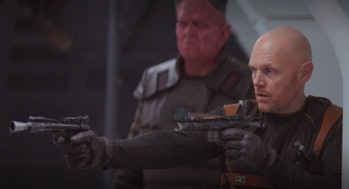 Bill Burr in 'The Mandalorian'