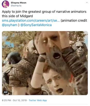 god of war sequel tweet
