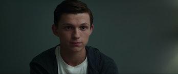 Peter Parker tells Tony Stark a bit of his origin story.