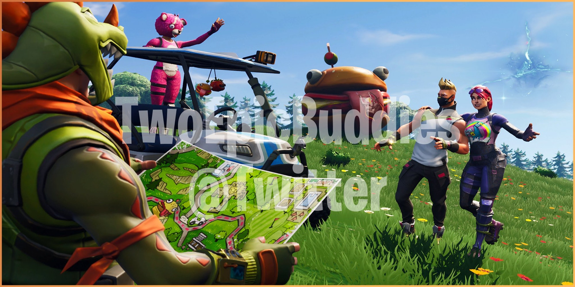 'Fortnite' Week 1 Road Trip Challenge Loading Screen