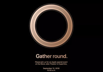 Apple 2018 iPhone event invitation