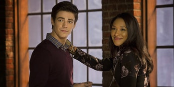 Barry and Iris.