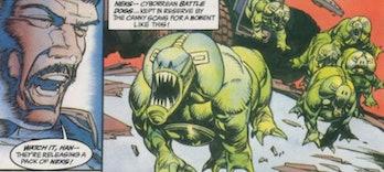 Neks in 'Star Wars: Dark Empire' #1 in 1991
