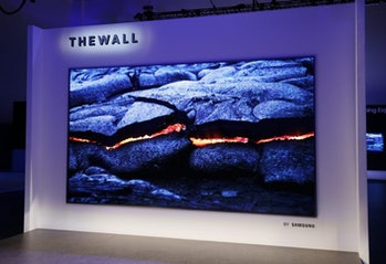 """Samsung's """"The Wall."""""""
