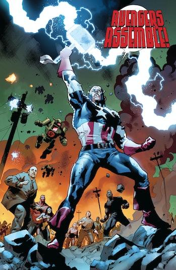 Captain America Avengers Endgame Thor Hammer Mjolnir