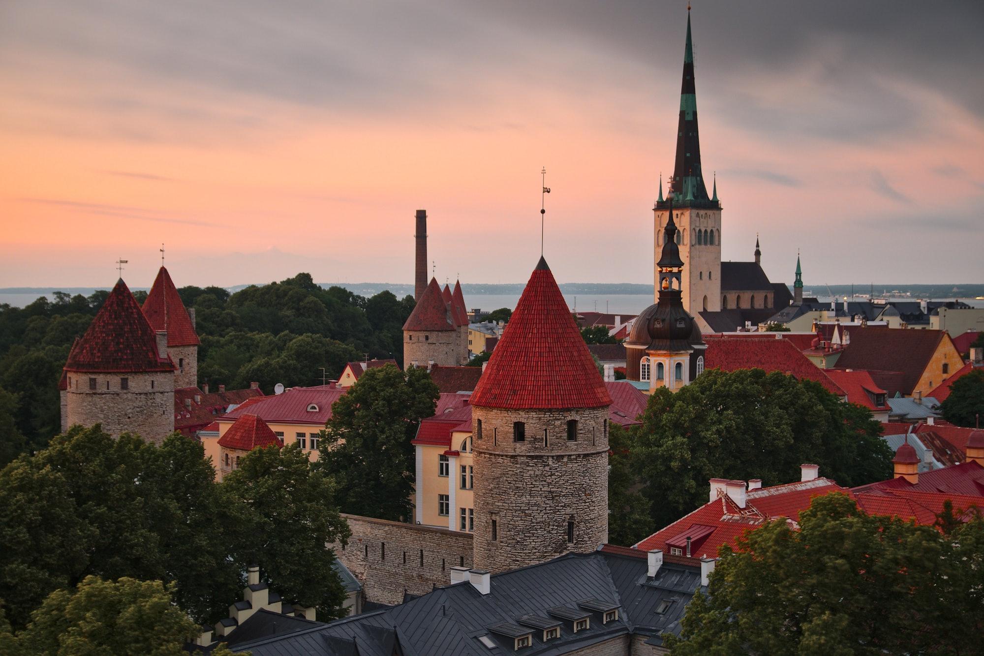A view of Tallinn.