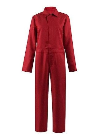 Us Costume Red Jumpsuit