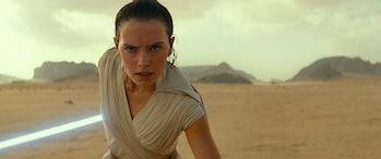 Daisy Ridley as Rey in 'Rise of Skywalker'
