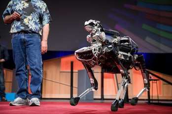 Boston Dynamics TED Conference