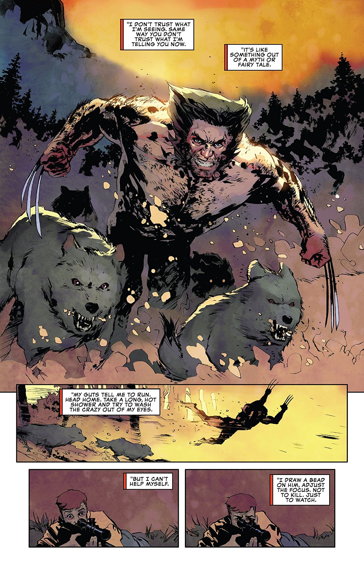 Marvel Wolverine the Long Night