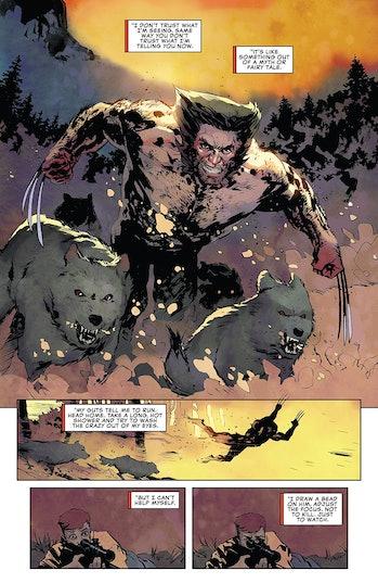 Marvel Wolverine the Long Night