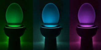 IllumiBowl Germ Defense Toilet Night Light: 2-Pack