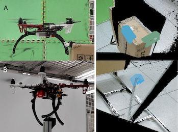 drones landing