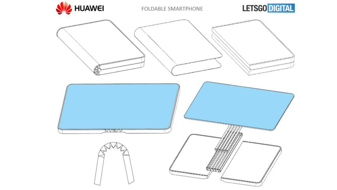 huawei foldable smrtphone design