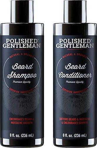 Polished Gentleman Bard Growth Shampoo & Conditioner