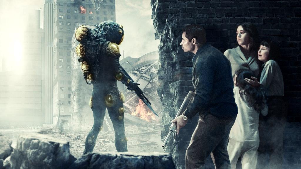Michael Peña stars in 'Extinction'.