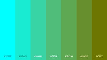 "Just another ""computer generated awesome color palette,"" in the words of creator Mike Bespalov."