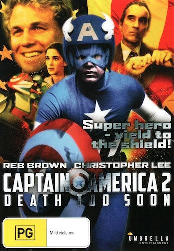 marvel movies 'Captain America II: Death Too Soon'