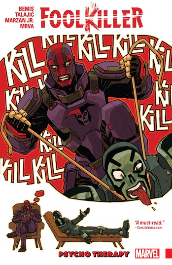 Jessica Jones Marvel Foolkiller