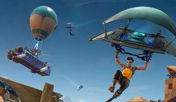 Figuring out where to land is the first harrowing experience you go through in every 'Fortnite: Batt...