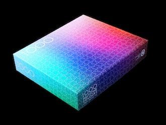 Clemens Habicht's 1000 Halftone Color Puzzle