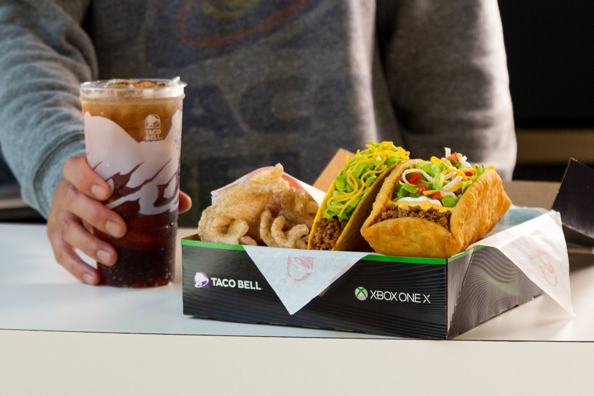 Xbox One X Taco Bell