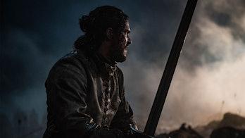 Kit Harington on Game of Thrones.