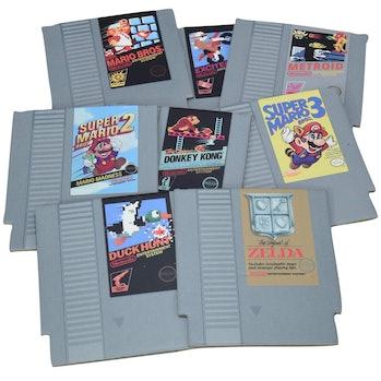 Paladone Nintendo NES Cartridge Coasters for Drinks