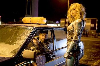 Captain Marvel Blockbuster Security Guard