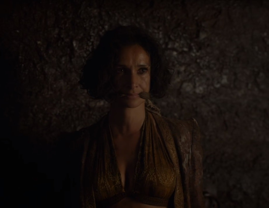 ellaria sand red keep dungeon prisoner cell cersei lannister game of thrones got season seven episode three 7 3 The queen's justice