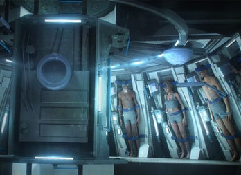 cryogenic freezing passengers