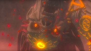 zelda breath of the wild 2 trailer reversed audio ganondorf zant demise