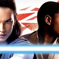 First 'Star Wars: The Last Jedi' Photo Shows Rey With Luke's Lightsaber