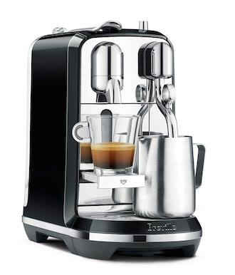 Breville Nespresso Creatista Single Serve Espresso Machine with Milk Auto Steam Wand