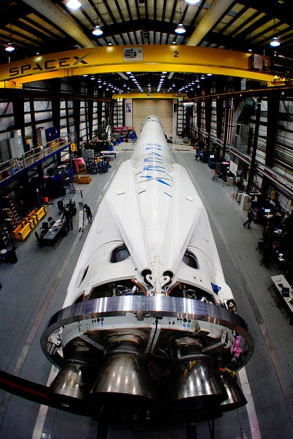 SpaceX's Falcon 9 rocket and Dragon spacecraft in 2014