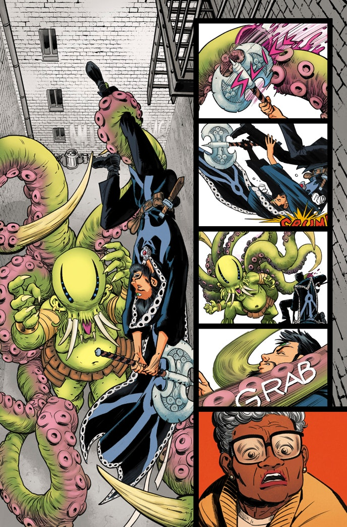 Marvel Comics preview forDoctor Strange and the Sorcerer Supremes