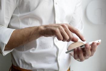 iphone tap